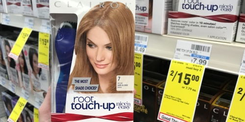 Clairol Root Touch-Up Hair Color Only $2 After Cash Back at CVS
