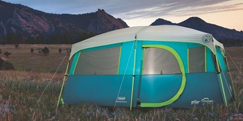 Coleman 8-Person Camping Tent w/ Closet Only $139 Shipped at Walmart (Regularly $210)