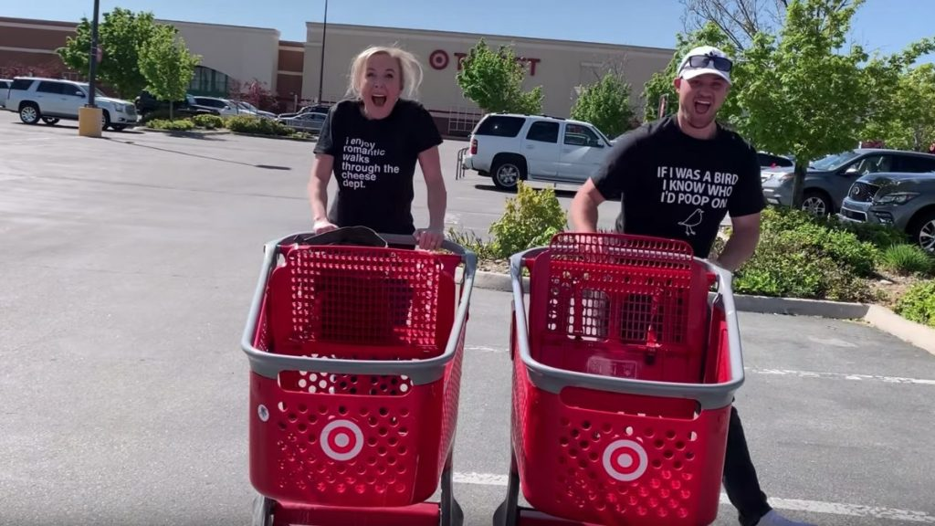 collin and stetson at target