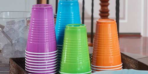 Amazon: Hefty Disposable 16oz Plastic Cups 100-Count Just $4.48 Shipped
