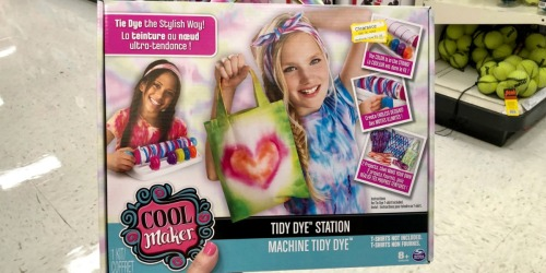 Cool Maker Tidy Dye Station Possibly Only $5.98 at Target (Regularly $20) + More