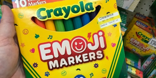 Crayola School & Art Supplies as Low as $1.98 at Target (Markers, Watercolor Paints & More)