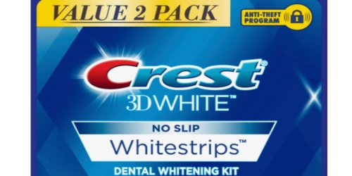 Crest Whitestrips TWIN Pack, Free One-Day Shipping!