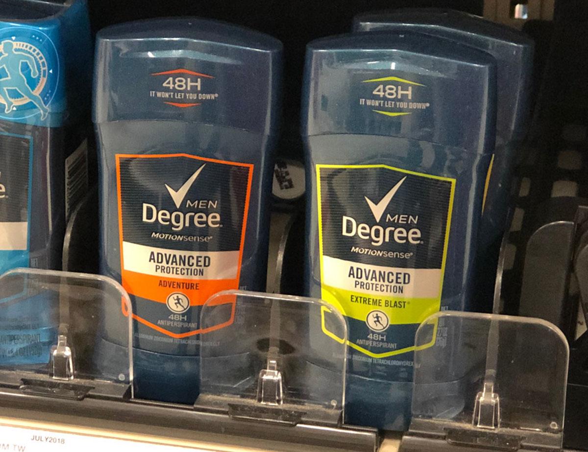 axe degree deodorant