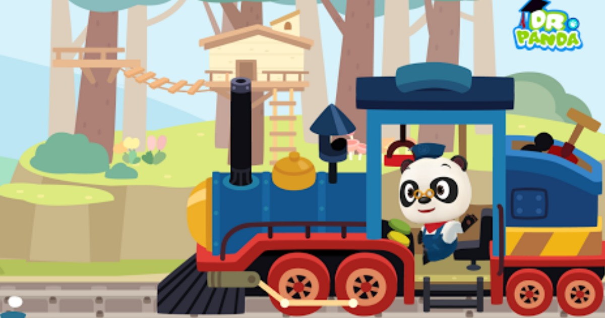FREE Dr. Panda Train iOS & Android App ($4 Value)