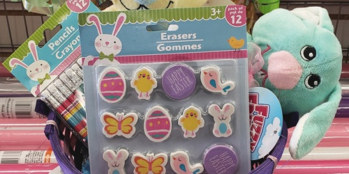 Bunny Crayons, Easter Erasers & More Only $1 at Dollar Tree