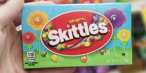 New $1/2 Mars Candy Coupon = 50¢ Skittles Theater Box Candy at CVS