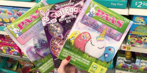 NEW Unicorn Easter Egg Decorating Kits Only $2.98 at Walmart + More (In-Stores & Online)