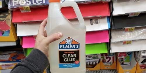 Elmer's Clear Washable Glue 1-Gallon Possibly Only $9 at Walmart (Regularly $20)