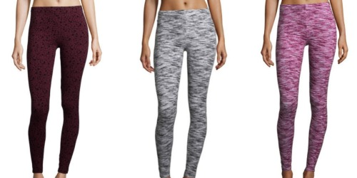 JCPenney.com: Women's Printed Leggings as Low as $2 (Regularly $20)