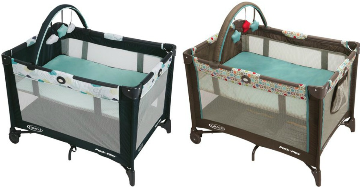 35b8d8011ad0 Graco Pack  n Play On the Go Playard w  Bassinet in Pasadena Only  58.99  shipped (regularly  89.99)