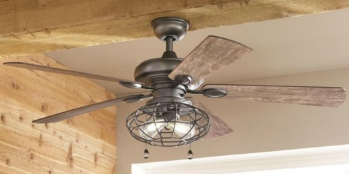 Up to 35% Off Ceiling Fans + Free Shipping at Home Depot