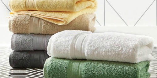 Up to 60% Off The Company Store Premium Turkish or Egyptian Cotton Towels at Home Depot