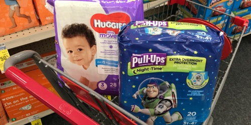 Huggies Diapers & Pull-Ups Only $3.76 After CVS Rewards