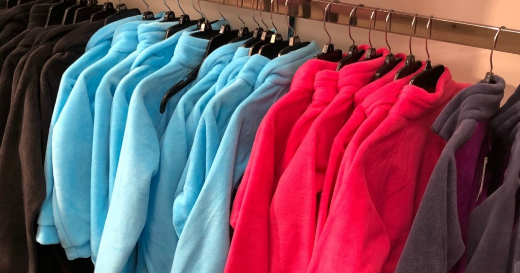 Columbia Fleece on hangers