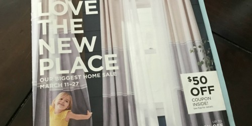Possible $50 Off $100 JCPenney Home Purchase Coupon (Check Your Mail)