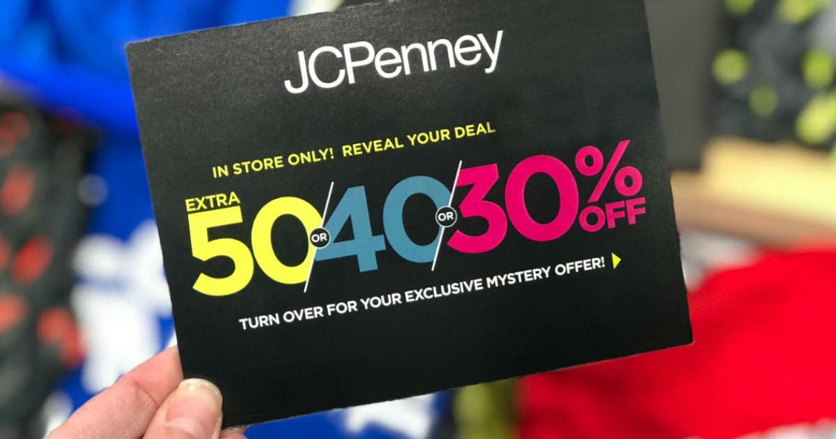 Jcpenney 10 off 10 coupon giveaway march 2019