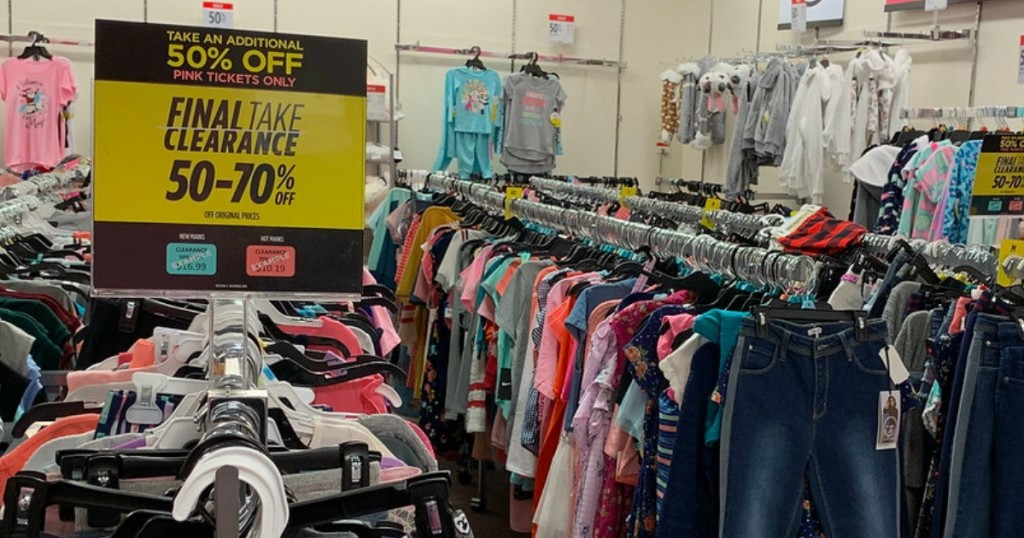 jcpenney women's clearance