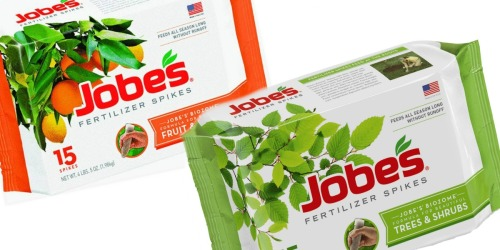 Lowe's: Jobe's Fertilizer 15-Count Tree and Shrub Spikes Only $4.99 Shipped (Regularly $10)