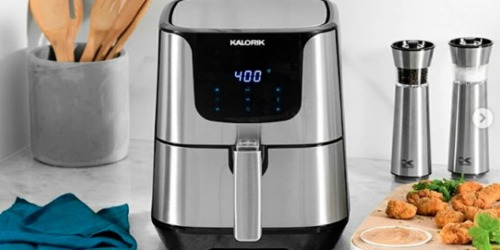 Kohl's Cardholders: Kalorik 5.3-Quart Digital Air Fryer Just $69.99 Shipped + Earn $10 Kohl's Cash