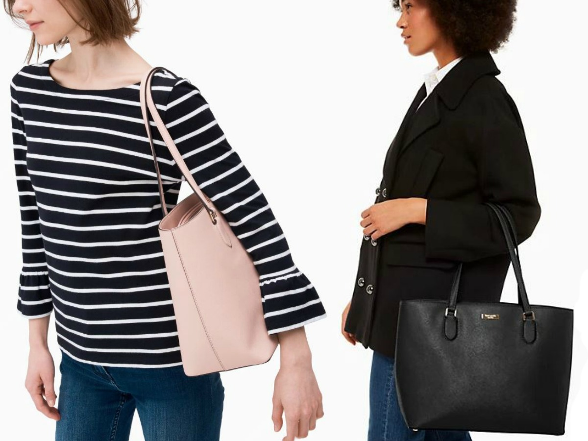 women with Kate Spade bags