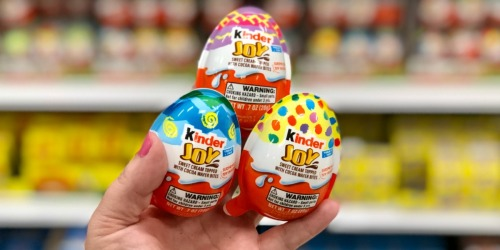 Kinder Joy Eggs Just 66¢ Each After Cash Back at Target