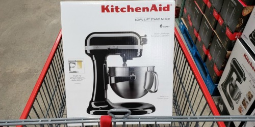 KitchenAid 6-Quart Bowl Lift Stand Mixer Possibly Just $199.97 at Costco