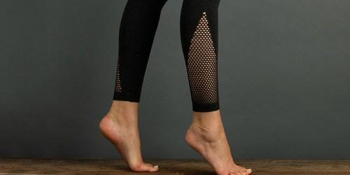 Lemon Legwear Women's Cutout Leggings Only $7.99 (Regularly $18+)