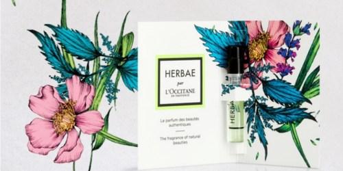 50% Off L'Occitane Shampoo + Free Deluxe Perfume Sample