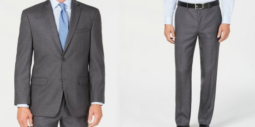 Men's Suit Jacket & Pants Only $59.99 Shipped at Macy's (Regularly $395)