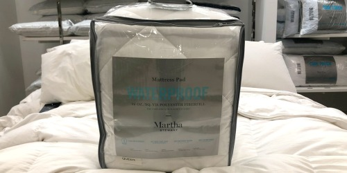 Martha Stewart Waterproof Mattress Pads in ANY Size Only $19.99 on Macy's (Regularly up to $120)
