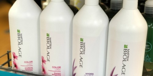 Matrix Biolage Shampoo or Conditioner BIG Liter Bottles Just $10 at JCPenney (Regularly $28+)