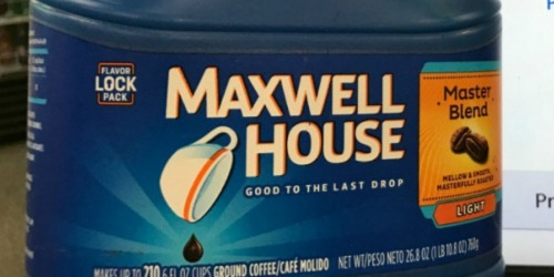 Over 30% Off Maxwell House Coffee + Free Shipping