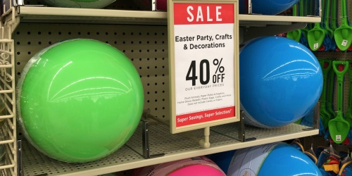40% Off Easter Items at Hobby Lobby (Mega Eggs, Melissa & Doug + More)