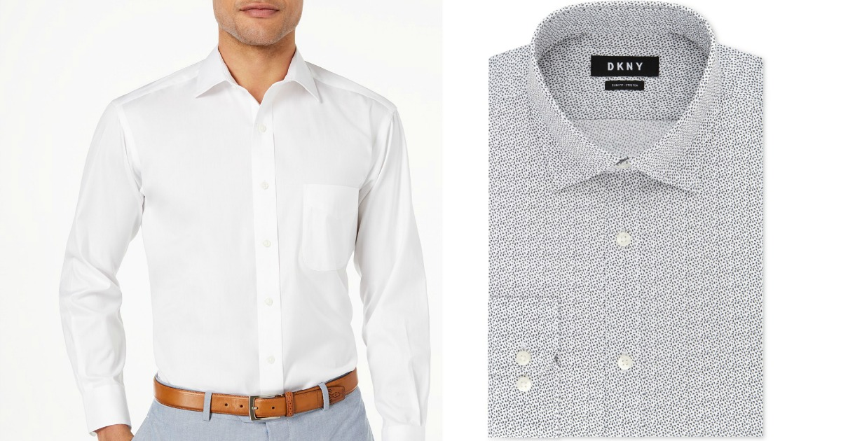 5bdba1658de Over 85% Off Select Men's Dress Shirts at Macy's (Calvin Klein ...