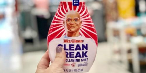 25% Off New Mr. Clean Clean Freak Starter Kits & Refills at Target