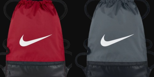 Nike Gymsack Only $7.99 Shipped (Regularly $15) + More
