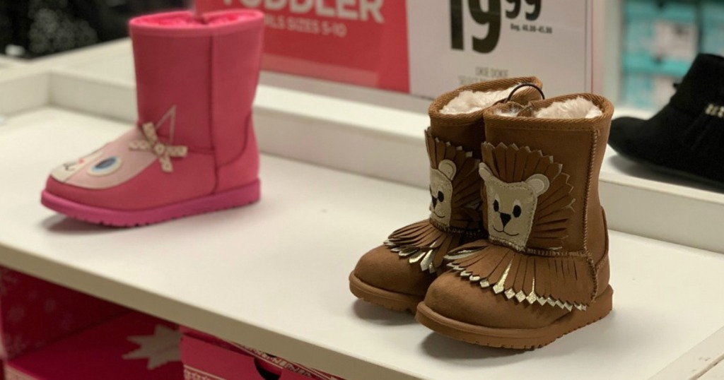 d18aaecab720 Okie Dokie Kids Boots Only  14.39 at JCPenney (Regularly  45) + More ...