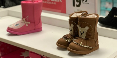 Okie Dokie Kids Boots Only $14.39 at JCPenney (Regularly $45) + More