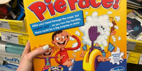 Pie Face! Game Possibly Only $4 at Staples (Regularly $20) + More