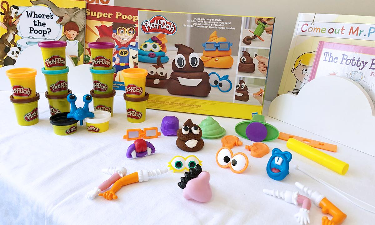 poop troop play-doh set