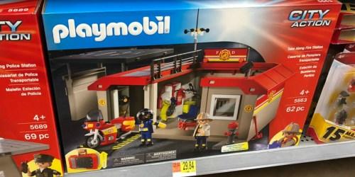 PLAYMOBIL Take Along Fire Station Just $17.95 at Walmart (Regularly $30)