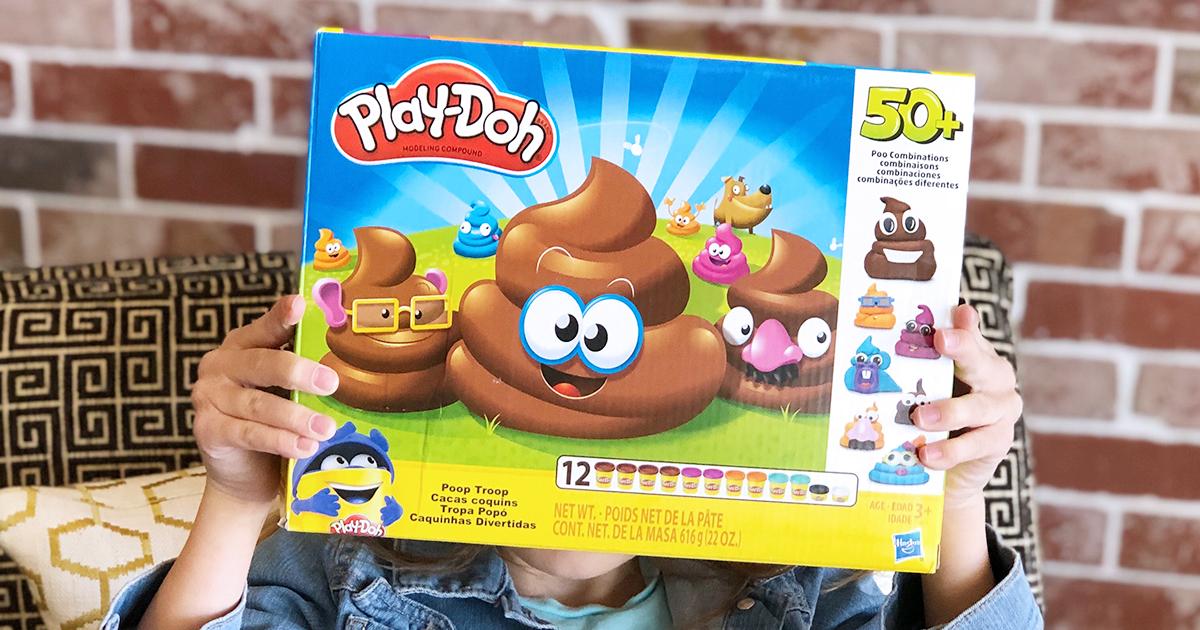 poop troop play-doh set box