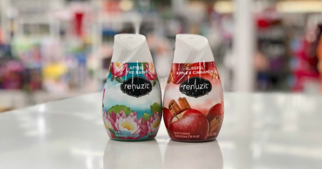 Renuzit Air Fresheners on store counter