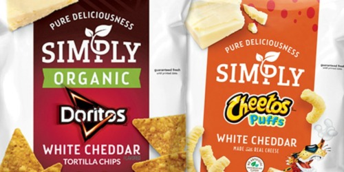 Amazon: Simply Organic Chips Variety Pack 36-Count Only $9 Shipped (Just 25¢ Each)