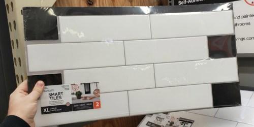 Over 30% Off Select Peel & Stick Backsplash Tiles at Home Depot