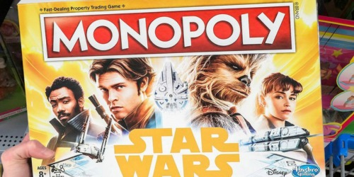 Star Wars Han Solo Monopoly Game Just $8.91 at Walmart (Regularly $20)