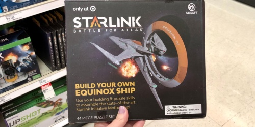 50% Off Starlink Build Your Own Spaceship Puzzle at Target (In-Store & Online)