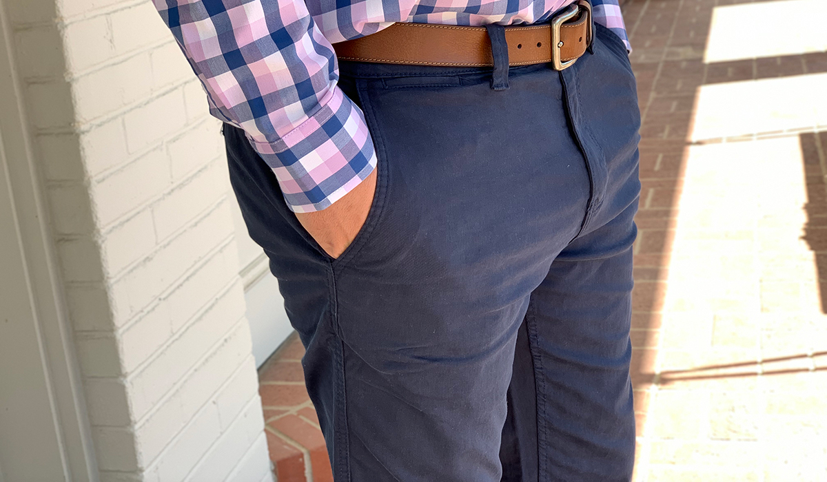 walmart wednesday — stetson wearing george chino pants