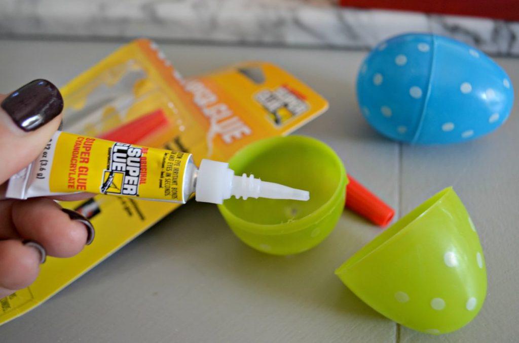 super glue eggs gag easter egg hunt ideas